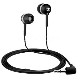 CX 300 In-ear Headphones with Asymmetrcal Cable (Black)