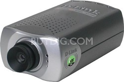 10/100 IP Network Camera, CCD, 1.0 Lux, 4x Digital Zoom, MPEG-4, 2-Way Audio