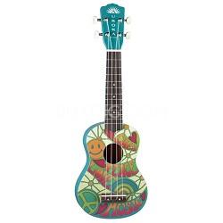 Aurora Ukulele Peace Half-Size Guitar