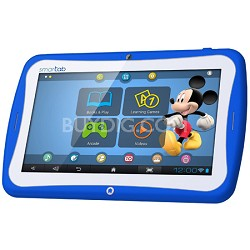 "Smart Tab 7"" Tablet Disney Content Dual Core - Blue"