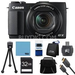 PowerShot G1 X Mark II Digital Camera Ultimate Kit