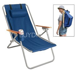 HiBack Deluxe Steel BackPack Chair