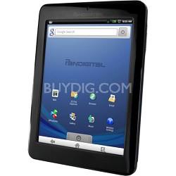 """Multimedia Novel 7"""" Android Multimedia eReader & Color Tablet"""