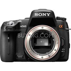 Alpha DSLR-A560 14.2 MP SLR Camera Body w/ 1080i HD Video