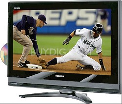 "26LV47 - REGZA 26"" High-definition LCD TV w/ built-in DVD Player"