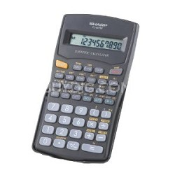 EL-501WBK 10 Digit 131 Function Calculator