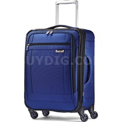 """SoLyte 20"""" Expandable Spinner Carry On Suitcase Luggage - True Blue"""