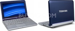 Mini NB305-N440BL 10.1-Inch Royal Blue Netbook