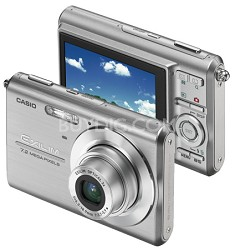 """Exilim Z75 7.2 MP wtih 2.6"""" Wide LCD - Anti-Shake DSP (Silver)"""