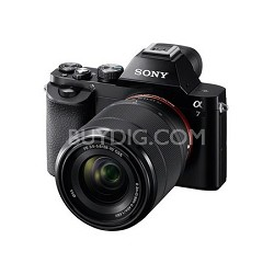 a7K Full-Frame Mirrorless Camera with FE 28-70mm f/3.5-5.6 OSS