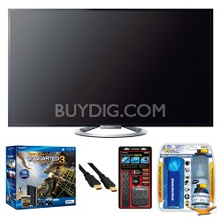 55W802A + PS3 Bundle (PS3 ships in 3-9 days)