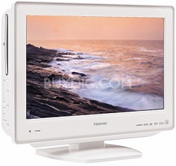"19LV611U - 19"" High-definition LCD TV w/ built-in DVD Player (Hi-Gloss White)"