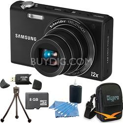 WB210 Black Digital Camera 8 GB Bundle