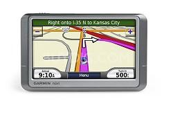 "nuvi 250W Portable GPS navigation w/ Wide 4.3"" Color Display"