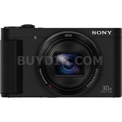 Cyber-shot HX80 Compact Digital Camera with 30x Optical Zoom - Black - OPEN BOX