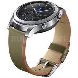 Gear S3 Classic Leather Band for Gear S3 Classic & Frontier Watch - Olive Green