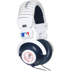 Major League Baseball Team Logo DJ Style Headphones - New York Yankees