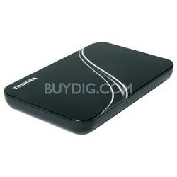 640 GB USB 2.0 Portable External Hard Drive in Black- HDDR640E04XK