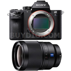 a7S II Full-frame Mirrorless Interchangeable Lens Camera Body 35mm Lens Bundle