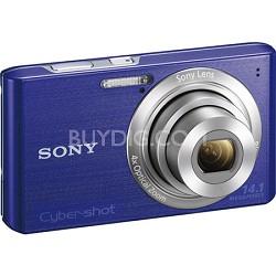 Cyber-shot DSC-W610 Blue 14.1 MP Compact Digital Camera