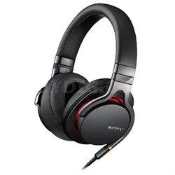 MDR1A Premium High-Resolution Stereo Headphones -Torn Box Includes Sony Warranty