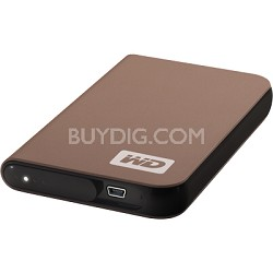 My Passport Elite Portable 400GB  External Hard Drive - Bronze { WDMLZ4000TN }