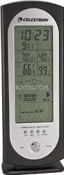 47005 Deluxe Compact Weather Station (Black)