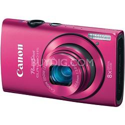 PowerShot ELPH 310 HS 12MP Pink Digital Camera w/ 8x Zoom, 1080p Video