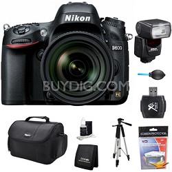 D600 24.3 MP CMOS FX-Format Digital SLR Camera w/ 24-85mm Lens and SB-700 Kit
