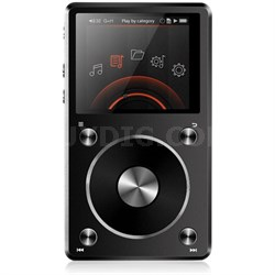 X5-II High Resolution Lossless Music Player - Black