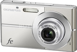 "FE-3010 12MP 2.7"" LCD Digital Camera (Titanium)"