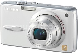 DMC-FX01 (White) Lumix 6 MP Digital Camera w/ 3.6x Optical Zoom