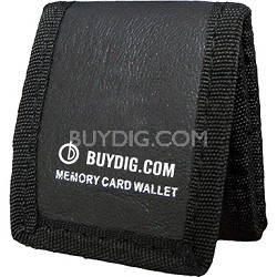 Buydig.com  Tri-fold Memory Card Wallet - Stores up to 3 Memory Cards