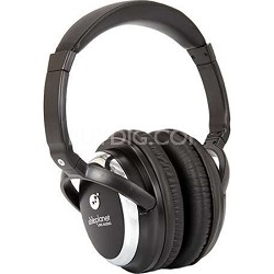 Sound Clarity Active Noise Canceling Headphones w/ Microphone - Black