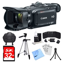VIXIA HF G40 Camcorder, 32GB Card, and Accessories Bundle