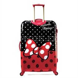 "67613-4754 28"" Hardside Spinner - Minnie Mouse Red Bow"