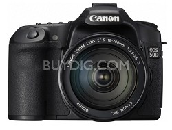 EOS 50D SLR Camera w/ 18-200mm Lens-Save Up To 500.00 Canon Printer Rebate Offer