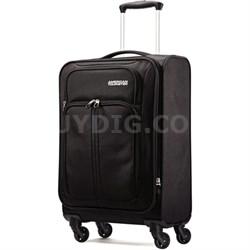 "Splash Spin LTE 20"" Black Spinner Luggage"
