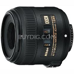 AF-S DX Micro-NIKKOR 40mm f/2.8G - OPEN BOX