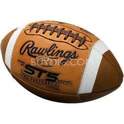 ST5H-B - ST5 Hybrid NFHS Pro Preferred Leather Football