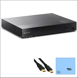 BDP-S6500 4K Upscale 3D Blu-Ray Player + Bundle