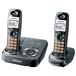 KX-TG9332T DECT 6.0 Expandable Digital Cordless Phone with 2 Handsets