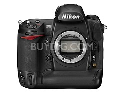 D3 12MP Pro DSLR Body, Nikon USA Warranty!