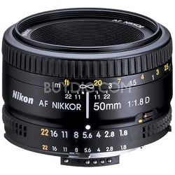 50mm F/1.8 D AF FS-52 Lens - OPEN BOX