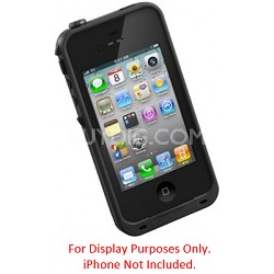 iPhone 4/4S Case Waterproof/Shockproof & Dirtproof Black