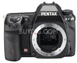 K7 Digital SLR Camera Body - Pop Photo's SLR Of The Year!!