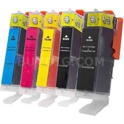 MPI Compatible Canon PGI-250XL/CLI-251XL Bundle - CMYK and Photo Black