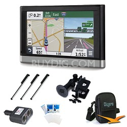 """nuvi 2457LMT 4.3"""" GPS with Lifetime Maps and Traffic Updates Ultimate Bundle"""