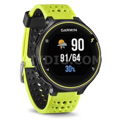 Forerunner 230 GPS Running Watch, Force Yellow