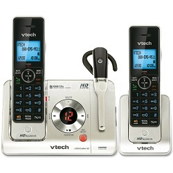 DECT 2.0 Two Handset Cordless Phone and Answering System - LS6475-3